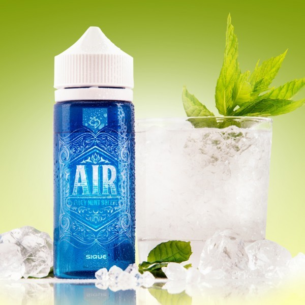 Sique Berlin Liquid Air 100 ml ohne Nikotin
