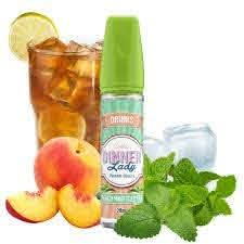 Peach Mint Iced Tea - Dinner Lady